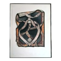 Bruce Weinberg Engraving Titled Mandala