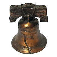 Souvenir Bronze Finish Metal Liberty Bell