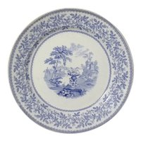Staffordshire WRS & Co Blue And White Transferware Plate