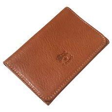 Il Bisonte Leather Accordion Card Case