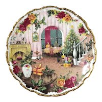 Royal Albert Old Country Roses Christmas Magic Plate