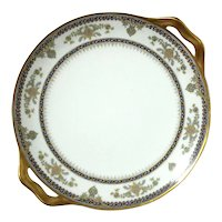 Haviland Limoges Porcelain Handled Plate
