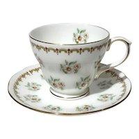 Vintage Duchess Floral Cup & Saucer