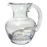 Simon Pearce Hand-Blown Art Glass Meriden Pitcher