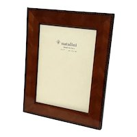 Italian Natalini Wooden Picture Frame