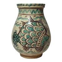 Antique Italian Monteluce Pottery Jug