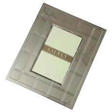Ralph Lauren Silver Picture Frame