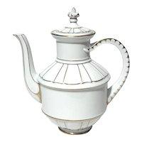 Bing And Grondahl Porcelain Teapot