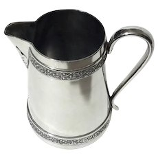 19th Century Middletown Plate Co Pitcher