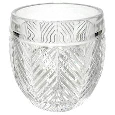 Ralph Lauren Herringbone Roly Poly Glass