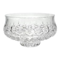 Irish Waterford Crystal Lissadel Pedestal Bowl