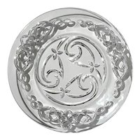 Waterford Crystal Aidan's Knot Accent Plate