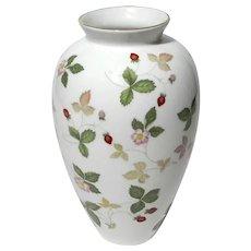 Wedgwood Wild Strawberry Bone China Vase