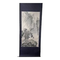 Early Vintage Signed Chinese Scroll Painting