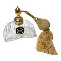 Marcel Franck Crystal Perfume Bottle Atomizer