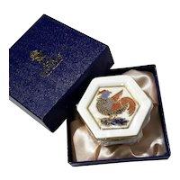 Royal Crown Derby imari Trinket Box