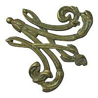 Virginia Metalcrafters For Metropolitan Museum Of Art Brass Trivet