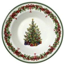 Holiday Celebrations Large Rim Soup Bowl By CHRISTOPHER RADKO