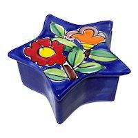 La Musa Italian Pottery Star Box