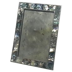 Mexican Abalone Shell Picture Frame
