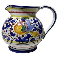 Italian Deruta Pottery Pitcher