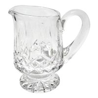 Waterford Lismore Cut Crystal Cream Pitcher