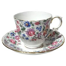 Royal Victoria China Cup And Saucer
