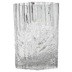 Art Glass Vase By Tapio Wirkkala For Iittala