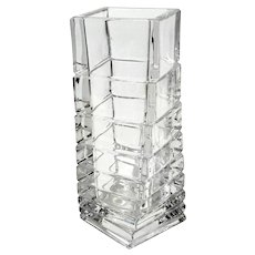 Rosenthal Studio Line Twisted Crystal Vase