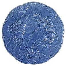 Bordallo Pinheiro Blue Lotus Serving Dish