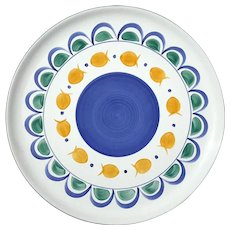Herend Village Pottery Goldfish Chop Plate