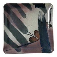 John Freimarck Studio Art Pottery Stoneware Tray