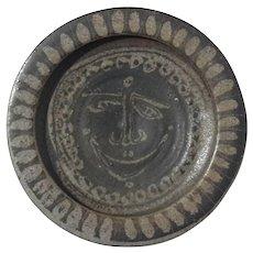 Mid-Century Danish Modern Art Pottery Stoneware Dish