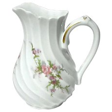 Haviland Limoges Porcelain Rosalinde Cream Pitcher