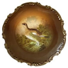Royal Munich Bavaria Grouse Plate