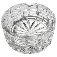 Waterford Cut Crystal Ashtray