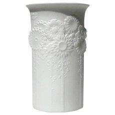 Kaiser White Bisque Porcelain Vase