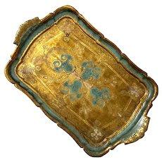 Florentine Gilt Wood Tray