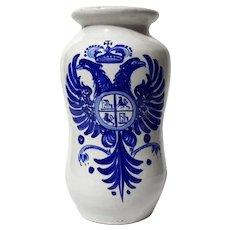Signed Sanguino Toledo Spanish Pottery Vase