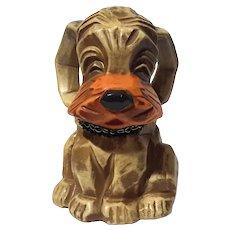 Vintage Napcoware Dog Bank