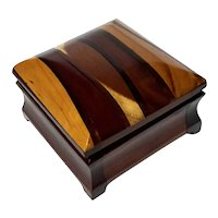 Handcrafted Wood And Resin Box