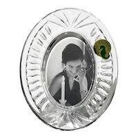 Waterford Crystal Oval Picture Frame