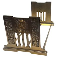 Shakespeare Expandable Bookstand By Judd Mfg Co, Circa 1920
