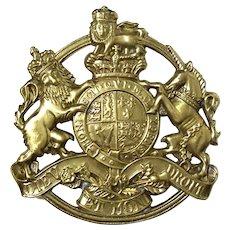 Virginia Metalcrafters Kings Arms Brass Trivet