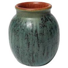 Czech BINDENSCHILD Art Pottery Matte Glaze Vase
