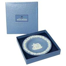 Wedgwood Blue Jasperware Dish