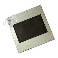 Vera Wang Silver Plate Love Knots Picture Frame