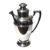 Extra Large Melford Silver Plated Cocktail Shaker
