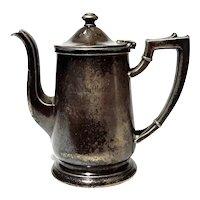 The Warwick Hotel Philadelphia Silver Teapot