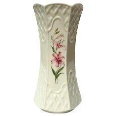 Belleek Country Trellis Vase